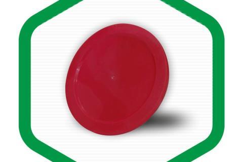 درب پوش پلاستیکی (سفید- قرمز)